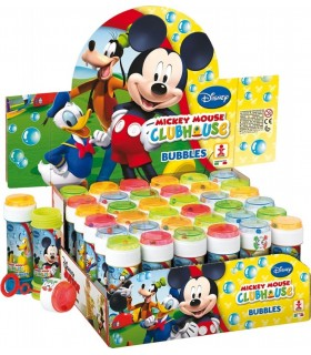 Bolle di sapone Mickey Mouse da 60ml confez. 36 pz.