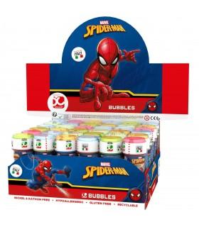 "Bolle di Sapone Dulcop ""Spiderman"" da 60ml confez. 36 pz."