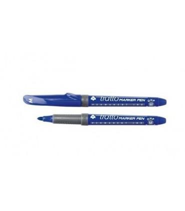 Tratto Marker Pen OHP M conf. da 8 pz. colore blu