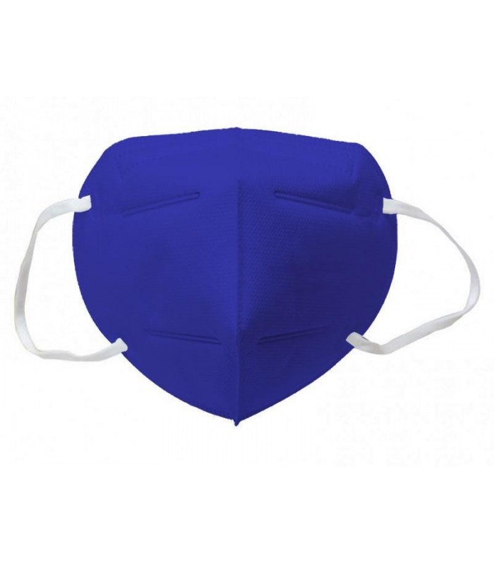 Mascherina Autofiltrante FFP2 CE 2233 colore BLU conf. 20 pz (blisterate singolarmente)
