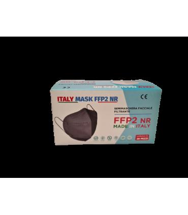 Mascherina Autofiltrante FFP2 CE 2233 colore ROSSA conf. 20 pz (blisterate singolarmente)