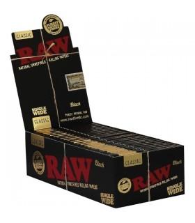 Cartina Raw Black Corta Singola conf. 50 libretti da 50 cartine