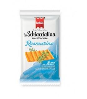 SCHIACCIATINA MANTOVANA BOTTOLI 37.5g GUSTO ROSMARINO CONF. 40 PZ.