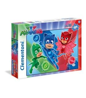Puzzle Supercolor Clementoni Maxi 104 pz. Pj Masks