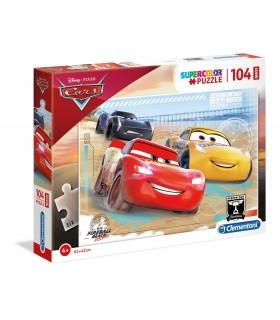 Puzzle Supercolor Clementoni Maxi 104 pz. Cars 3