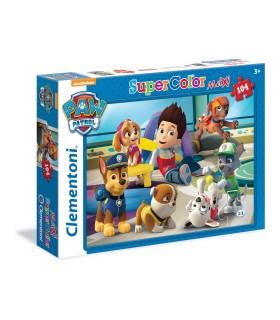 Puzzle Supercolor Clementoni Maxi 104 pz. Paw Patrol