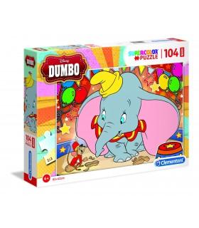 Puzzle Supercolor Clementoni Maxi 104 pz. Dumbo