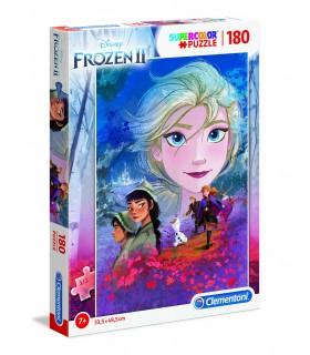 Puzzle Supercolor Clementoni Maxi 180 pz. Frozen