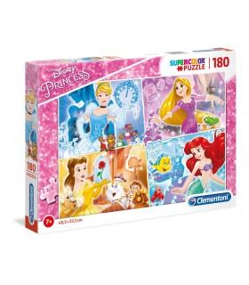 Puzzle Supercolor Clementoni 180 pz. Disney Principesse