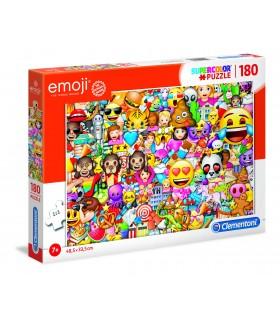 Puzzle Supercolor Clementoni 180 pz. Emoji