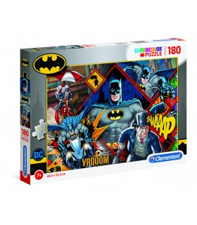 Puzzle Supercolor Clementoni 180 pz. Batman