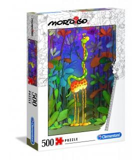 Puzzle Supercolor Clementoni 500 pz. Mordillo