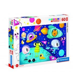 Puzzle Supercolor Clementoni Maxi 60 pz. Outer Space