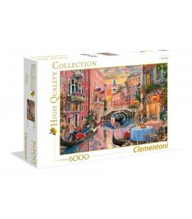 Puzzle Clementoni Collection  6000 pz. Venice Evening Sunset