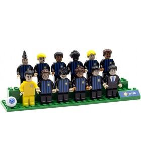 Brick Team F.C. inter con Le Figure dei Calciatori