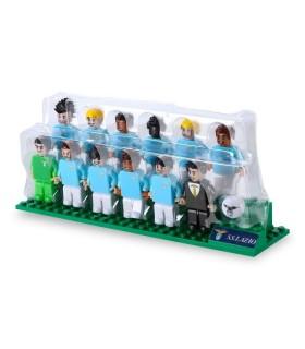 Brick Team S.S.Lazio con Le Figure dei Calciatori