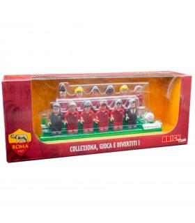 Brick Team A.S Roma con Le Figure dei Calciatori