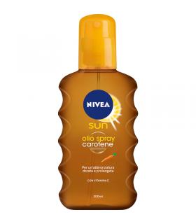 Nivea Olio Solare Spray Carotene 200 ml