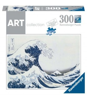 Puzzle Ravensburger 49x36 cm. 300 pz. The Great Wave off Kanagawa