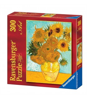 Puzzle Ravensburger 49x36 cm. 300 pz. Van Gogh Vaso di Girasoli