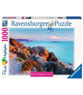 Puzzle Ravensburger 70x50 cm. 1000 pz. Mediterranean Grecia