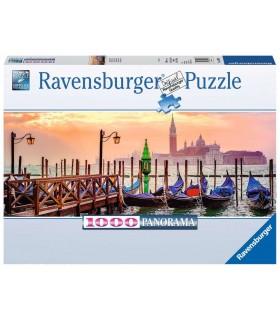 Puzzle Ravensburger 98x37 cm. 1000 pz. Gondole a Venezia