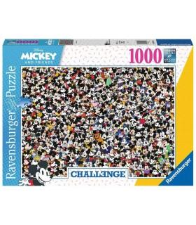 Puzzle Ravensburger 98x37 cm. 1000 pz. Challange Mickey Mouse