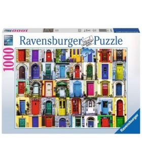 Puzzle Ravensburger 70x50 cm. 1000 pz. Porte del Mondo