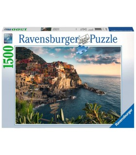 Puzzle Ravensburger 80x60 cm. 1500 pz. Vista delle Cinque Terre