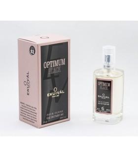 Profumo Ekuival Ispirato a Black Opium di Y.S Laurent da 50 ml  N.0011