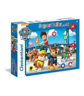 Puzzle Supercolor Clementoni Maxi 24 pz. Paw PAtrol