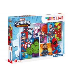 Puzzle Clementoni Maxi 24 pz. Superhero