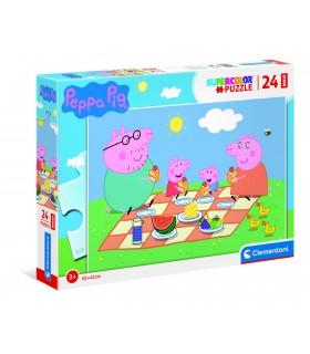 Puzzle Supercolor Clementoni Maxi 24 pz. Peppa Pig