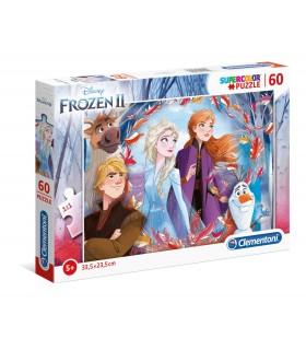 Puzzle Supercolor Clementoni Maxi 60 pz. Disney Frozen 2