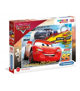 Puzzle Supercolor Clementoni 60 pz. Disney Cars