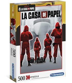 Puzzle Clementoni Collection 500 pz. La Casa de Papel I