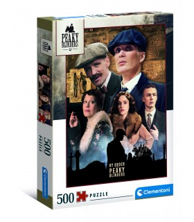 Puzzle Clementoni Collection 500 pz. Peaky Blinders