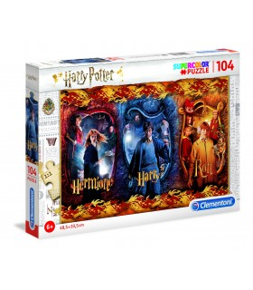 Puzzle Supercolor Clementoni Maxi 104 pz. Harry Potter