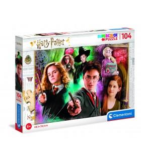 Puzzle Supercolor Clementoni Maxi 104 pz. Harry Potter