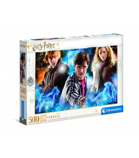 Puzzle Supercolor Clementoni 500 pz. Harry Potter