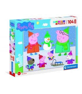 Puzzle Supercolor Clementoni 104 pz. Peppa Pig
