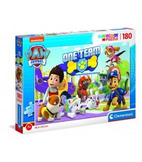 Puzzle Supercolor Clementoni 180 pz. Paw Patrol