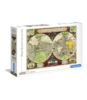 Puzzle Clementoni Collection  6000 pz. Antique Nautical Map