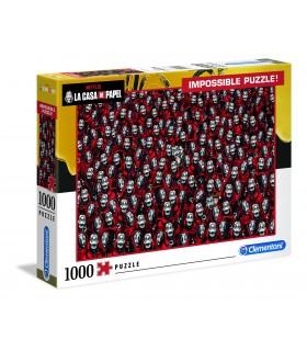 Puzzle Clementoni 1000 pz. La Casa di Papel 2020