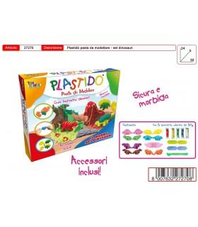 Plastido' Set Fattoria con Accessori e 5 Panetti colorati da 50g
