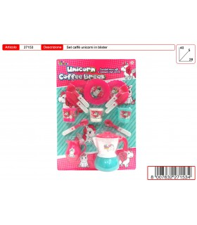 Set Caffè unicorno Toys Garden