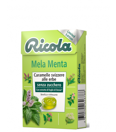 RICOLA MELA MENTA SENZA ZUCCHERO  ASTUCCIO CONF. DA 10 PZ.
