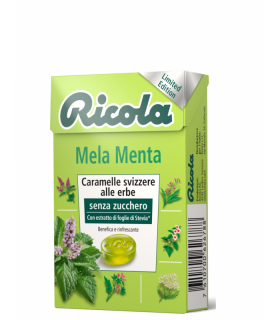 RICOLA MELA MENTA SENZA ZUCCHERO ASTUCCIO CONF. DA  20 PZ.
