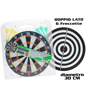 Dart Game con Freccette Diametro 30 cm