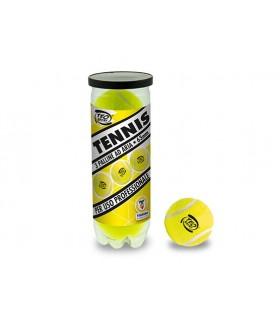 Tubo 3 Palline da Tennis ad Aria 63mm per Uso Professionale